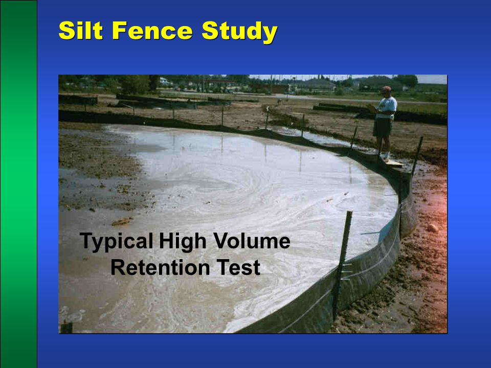 Typical High Volume Retention Test