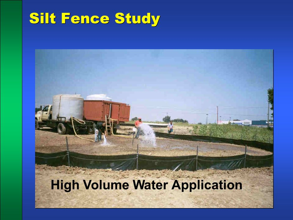 High Volume Water Application