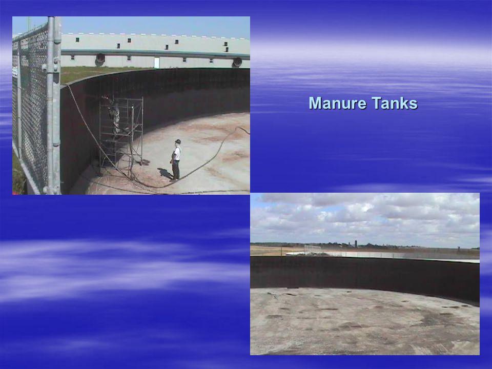 Manure Tanks