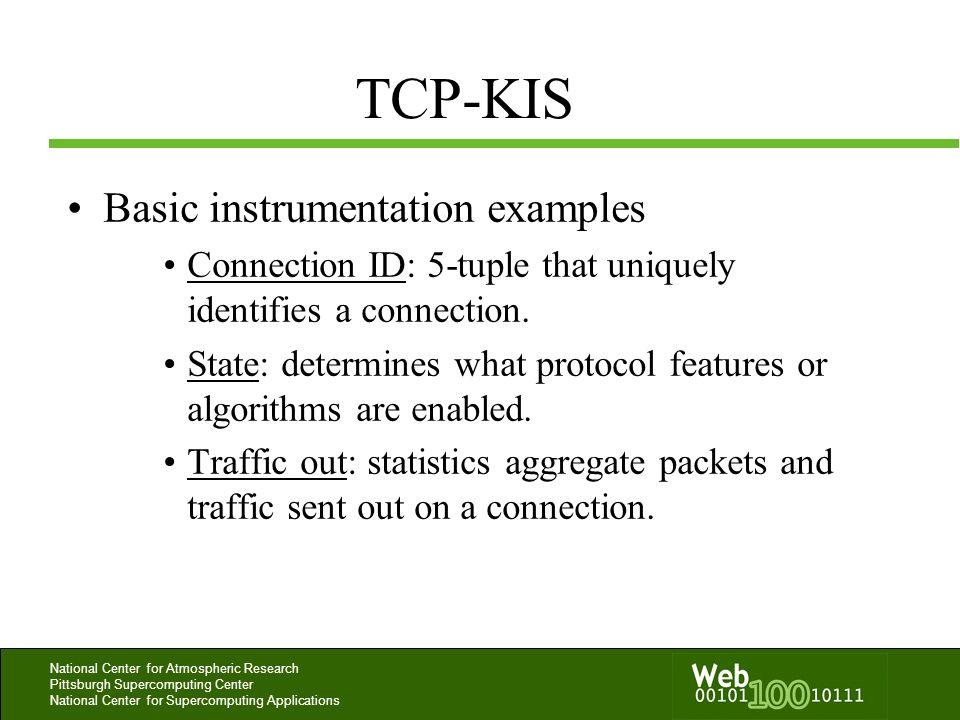 TCP-KIS Basic instrumentation examples