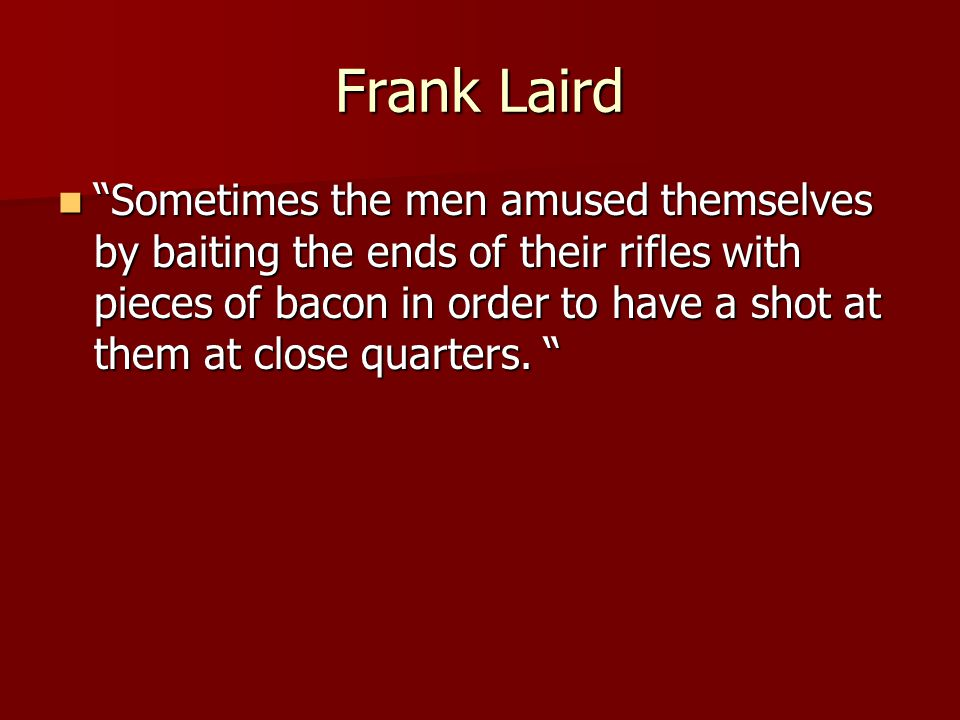 Frank Laird
