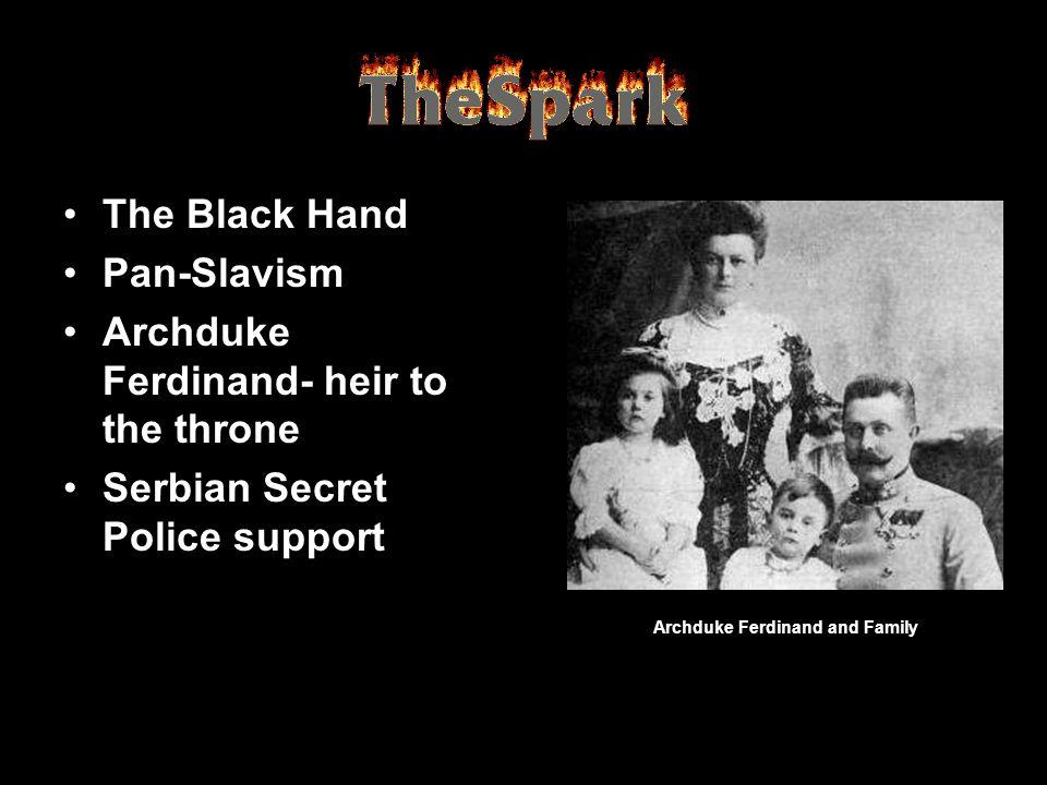Archduke Ferdinand and Family
