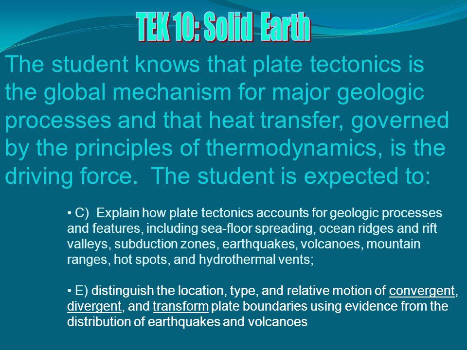 TEK 10: Solid Earth