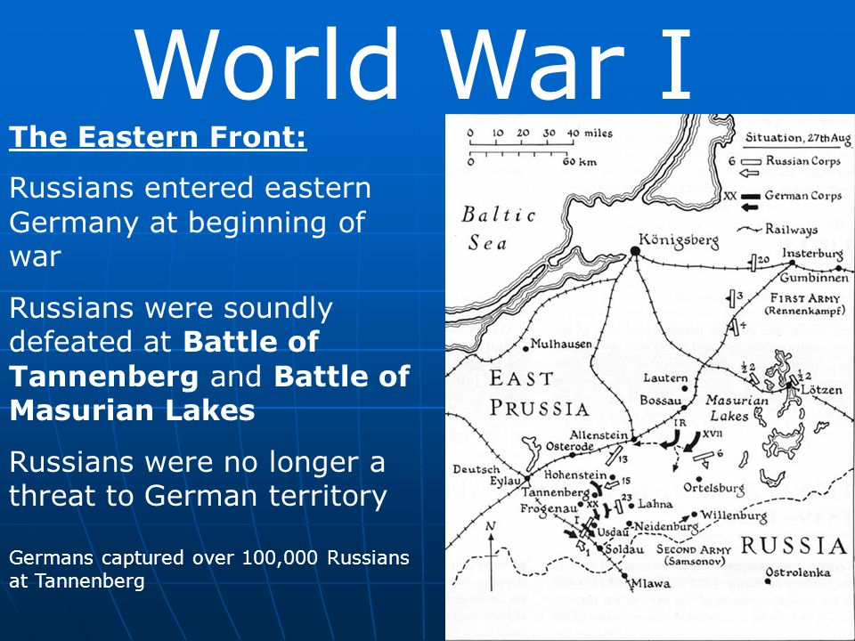 World War I The Eastern Front: