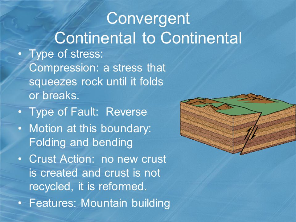 Convergent Continental to Continental