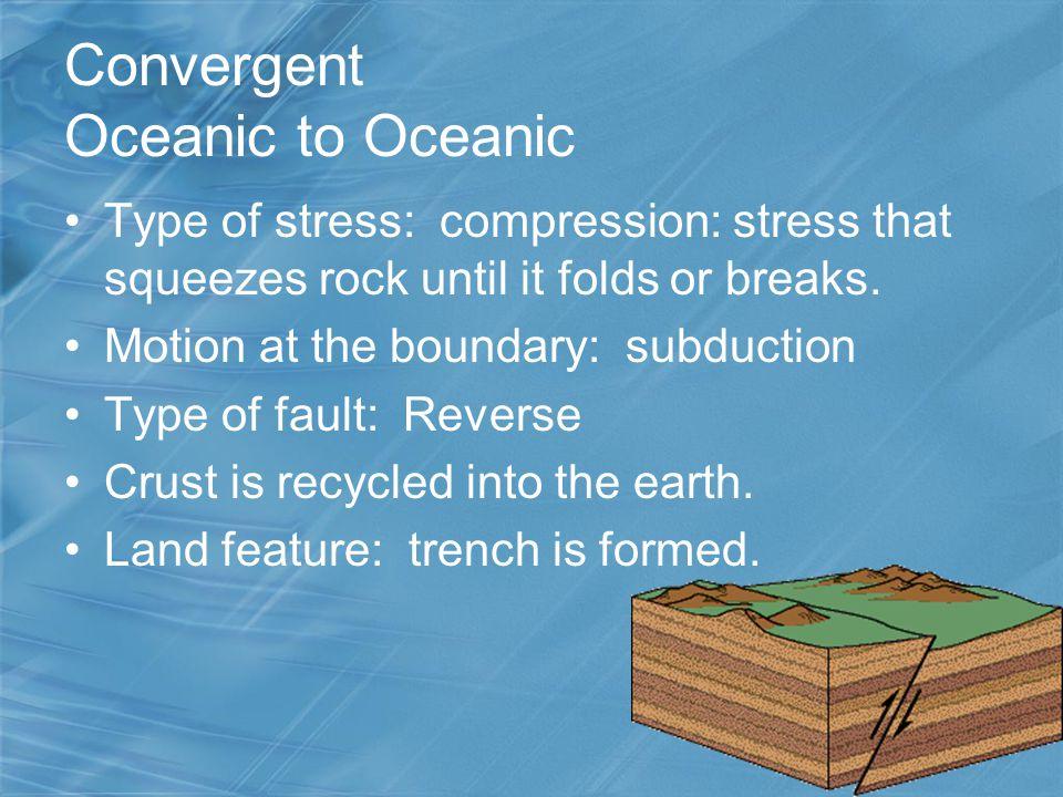 Convergent Oceanic to Oceanic