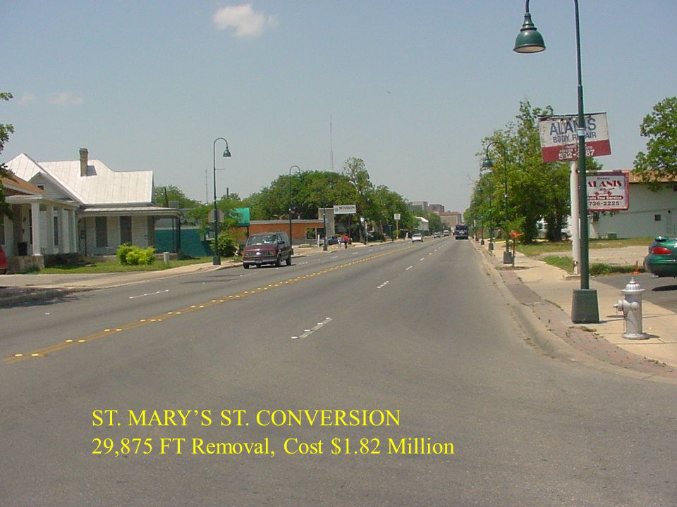 ST. MARY'S ST. CONVERSION