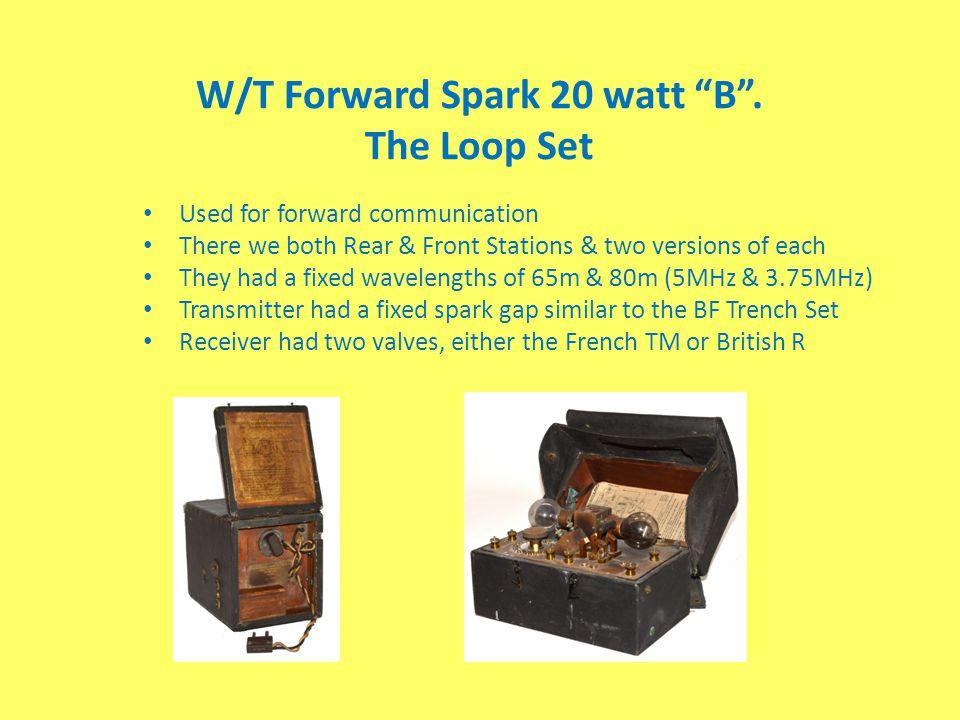 W/T Forward Spark 20 watt B . The Loop Set