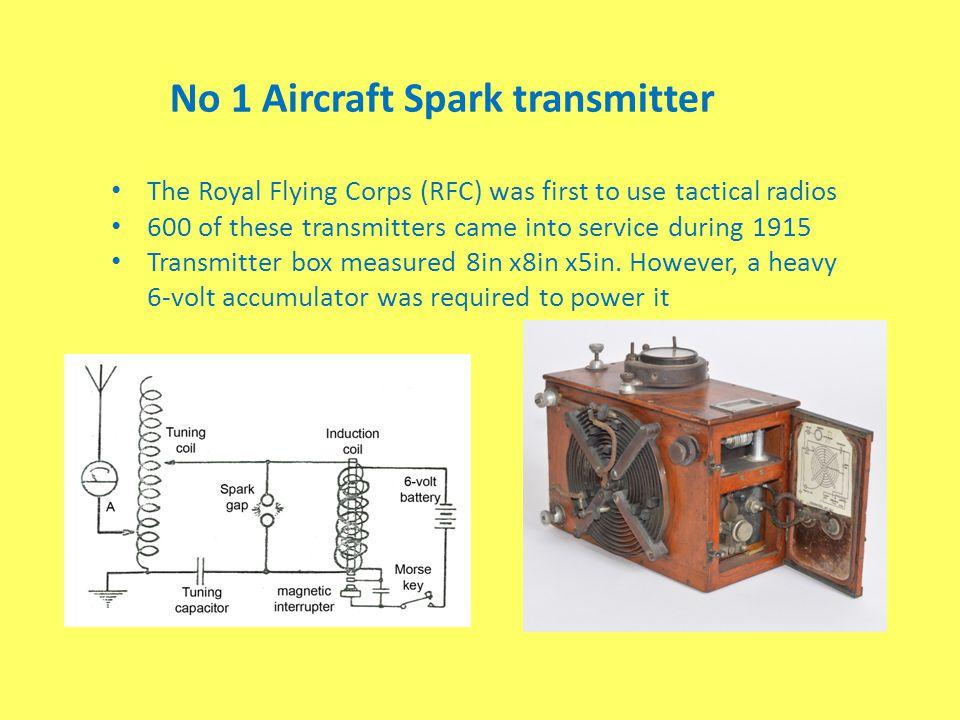 No 1 Aircraft Spark transmitter