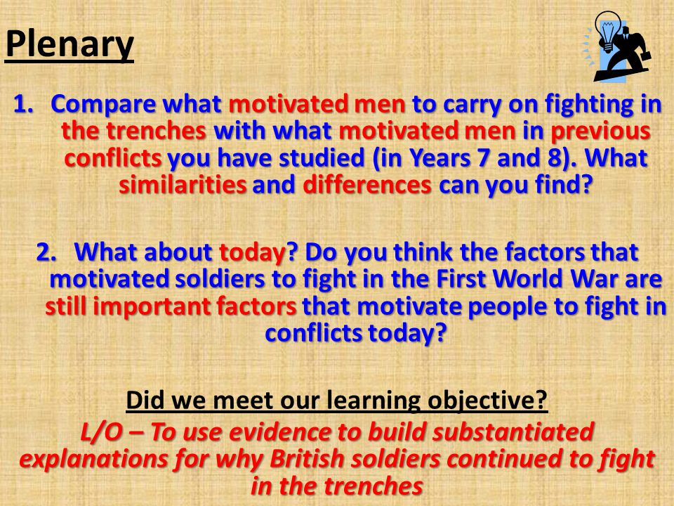Did we meet our learning objective