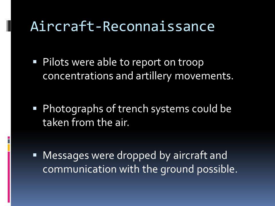 Aircraft-Reconnaissance