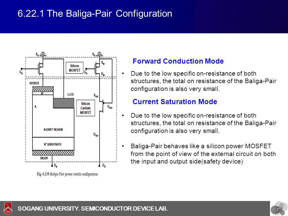 6.22.1 The Baliga-Pair Configuration