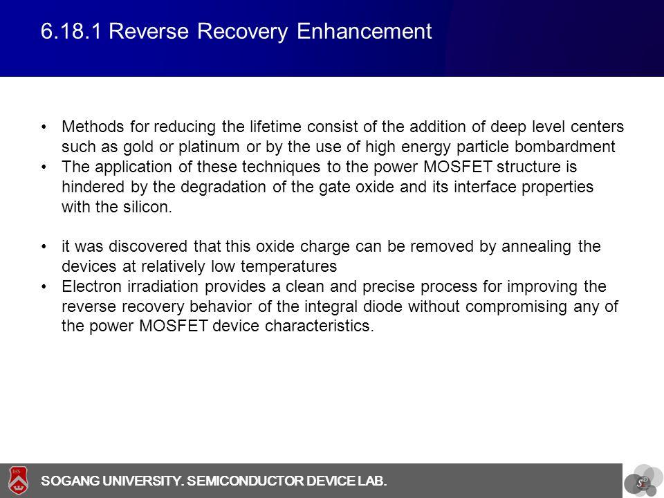 6.18.1 Reverse Recovery Enhancement