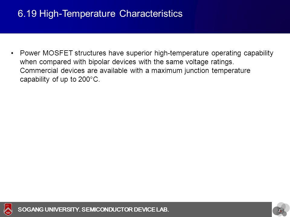 6.19 High-Temperature Characteristics