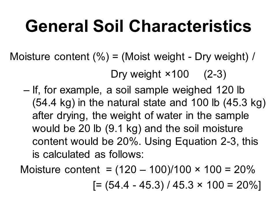 Earthmoving materials and operations ppt video online for What are soil characteristics