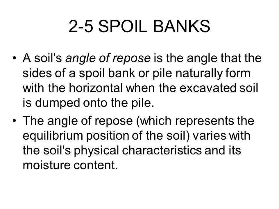 2-5 SPOIL BANKS