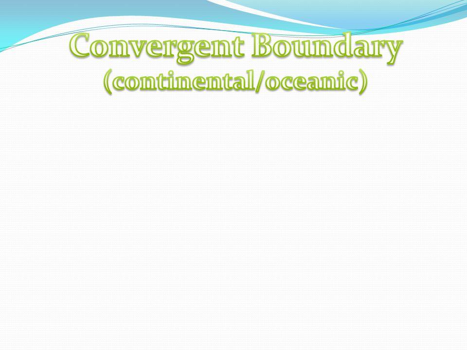(continental/oceanic)