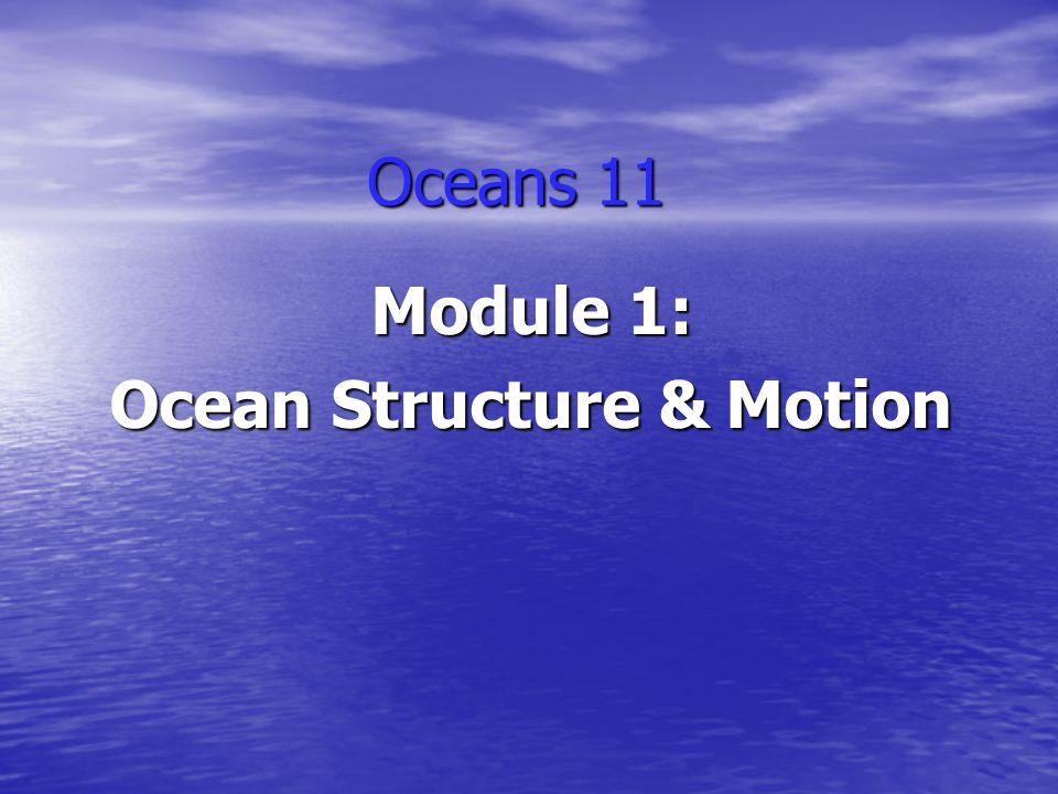 Module 1: Ocean Structure & Motion