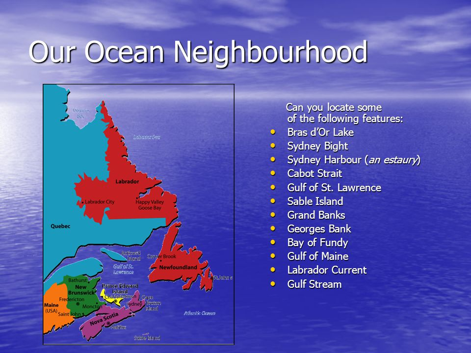 Our Ocean Neighbourhood