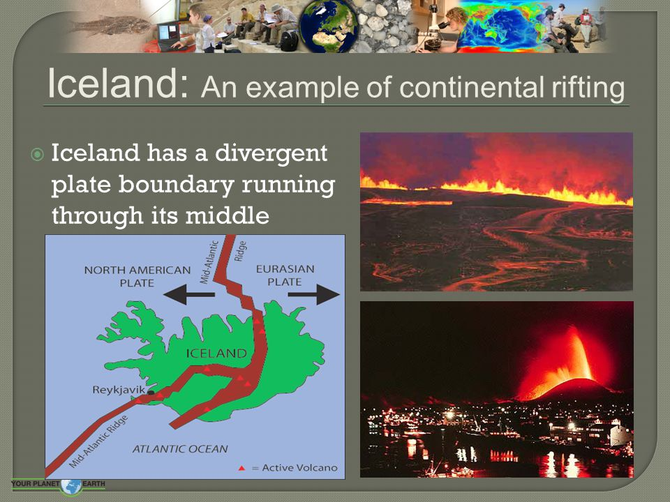 Iceland: An example of continental rifting