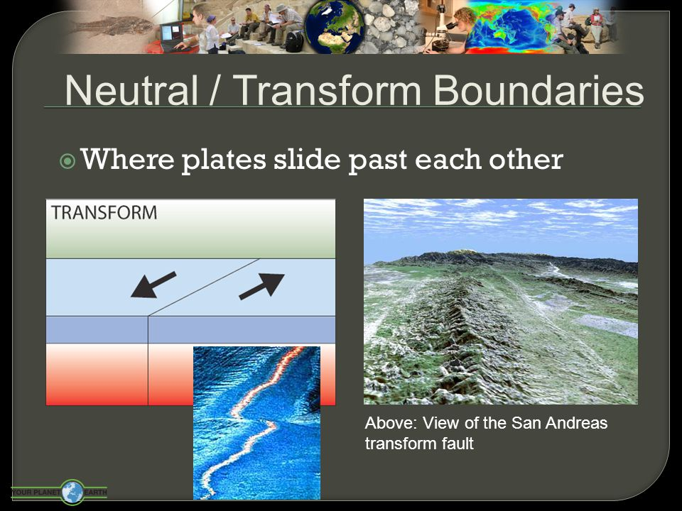 Neutral / Transform Boundaries