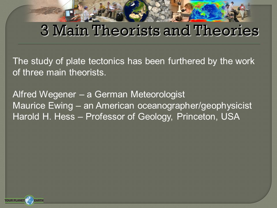 3 Main Theorists and Theories