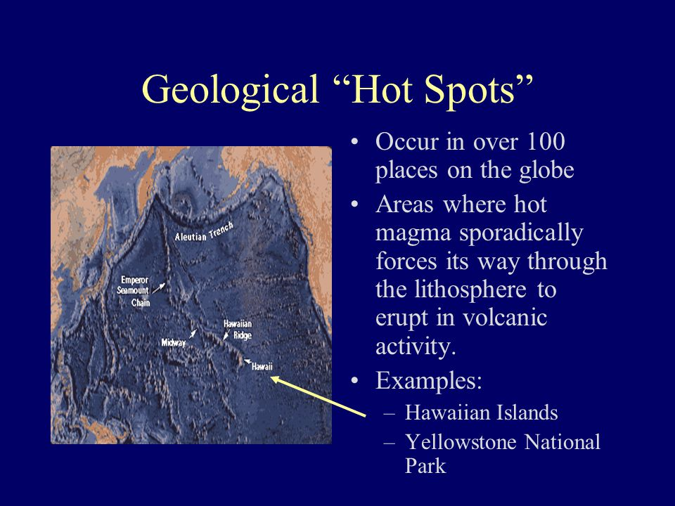 Geological Hot Spots