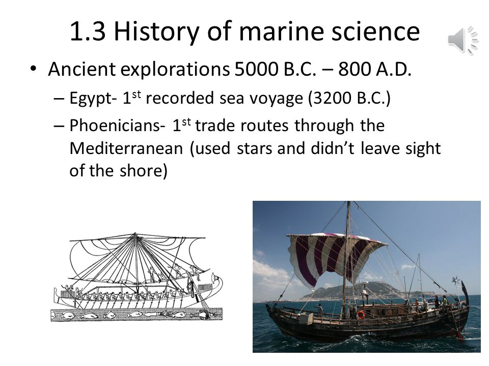 1.3 History of marine science