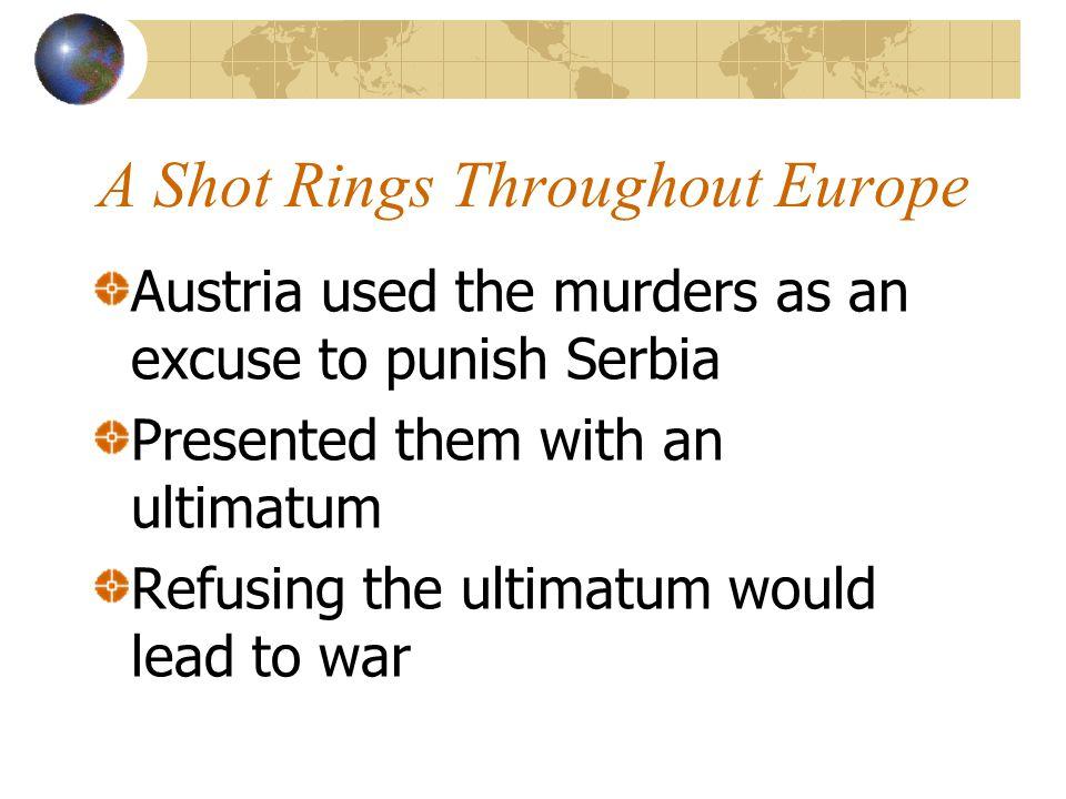 A Shot Rings Throughout Europe