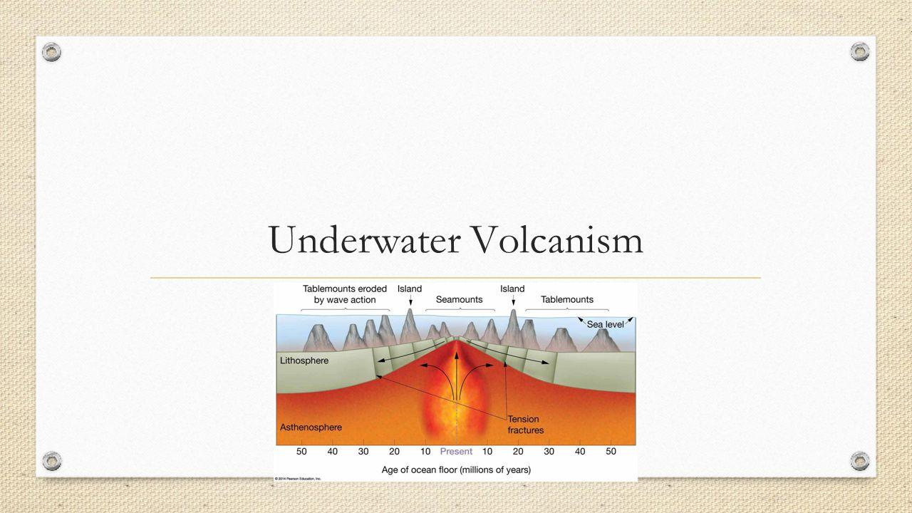 Underwater Volcanism