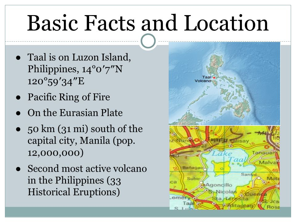 Basic Facts and Location