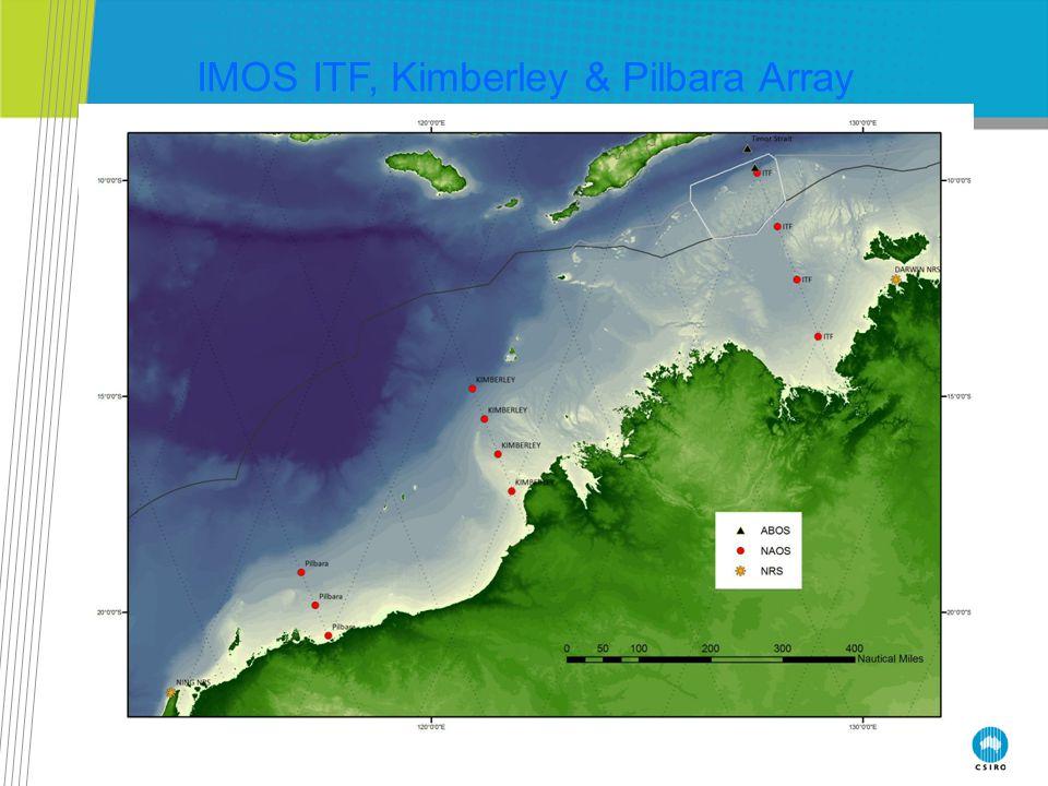 IMOS ITF, Kimberley & Pilbara Array