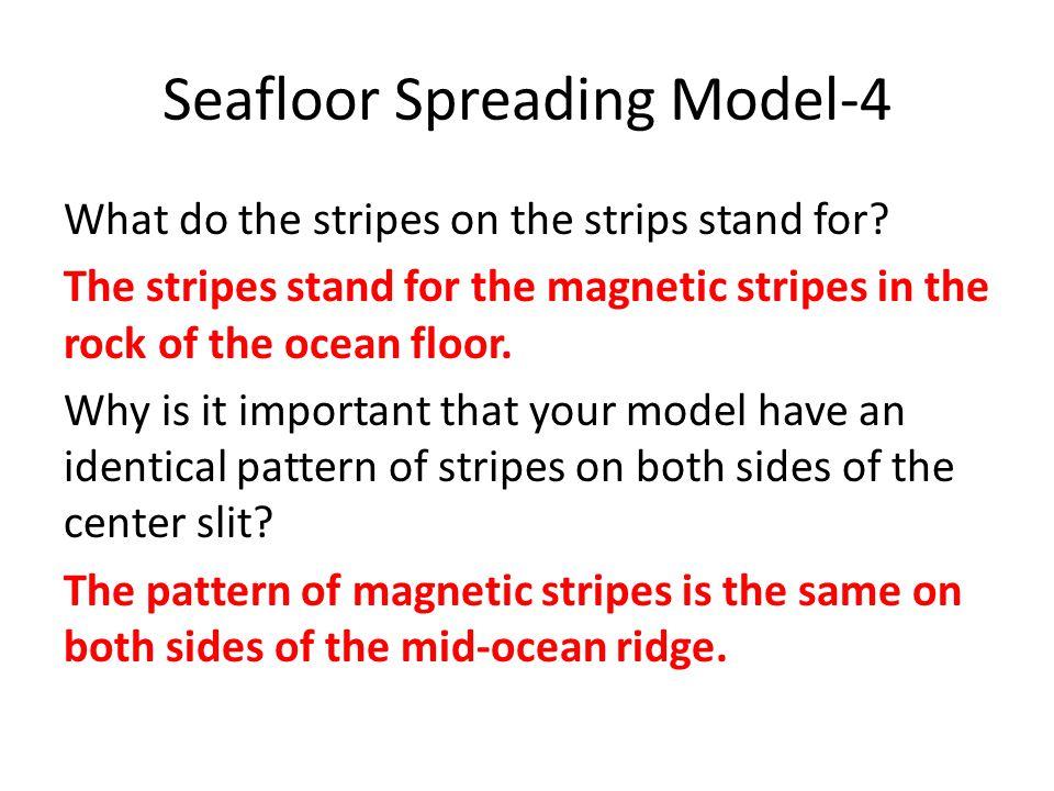 Seafloor Spreading Model-4