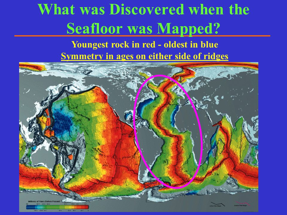 What was Discovered when the Seafloor was Mapped
