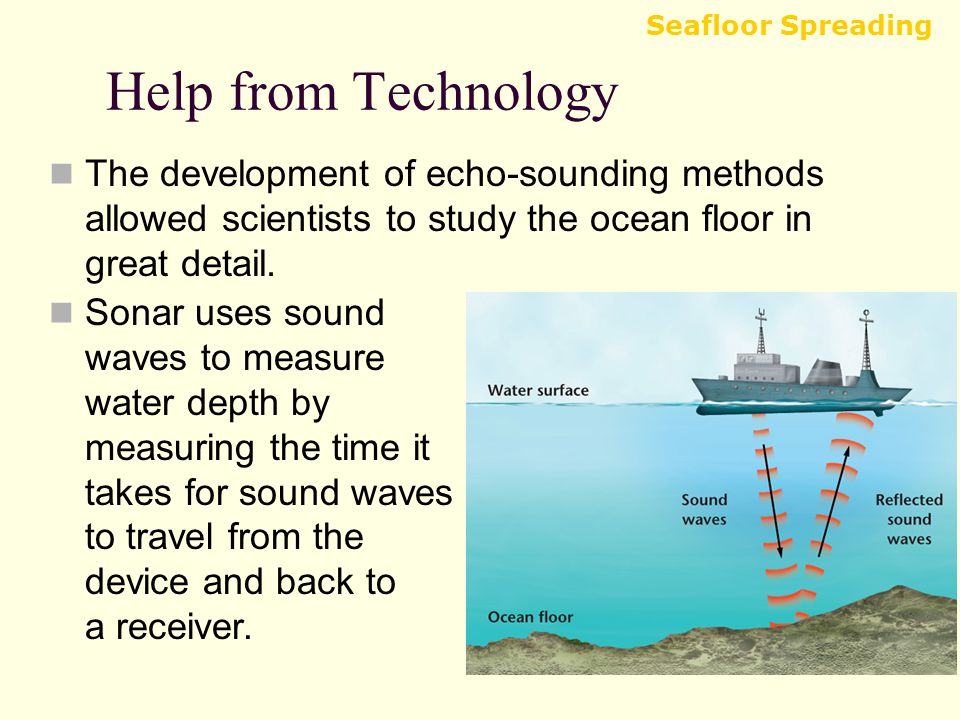 how the sea floor is studied