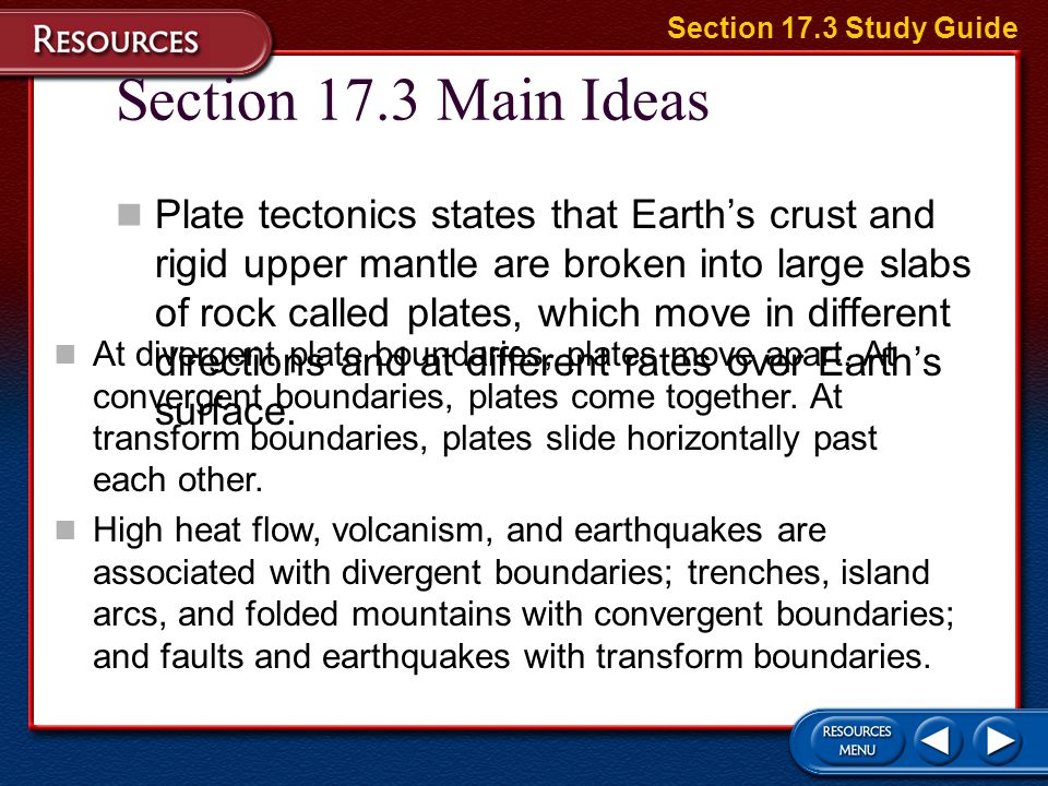 Seafloor Spreading and Plate Tectonics