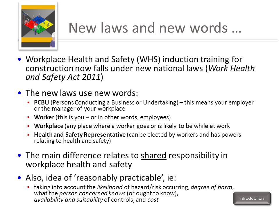 New laws and new words …