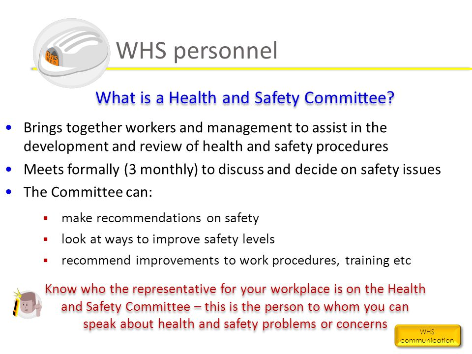 What is a Health and Safety Committee