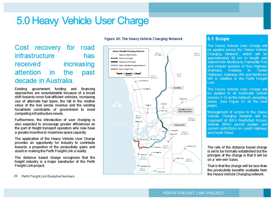 5.0 Heavy Vehicle User Charge