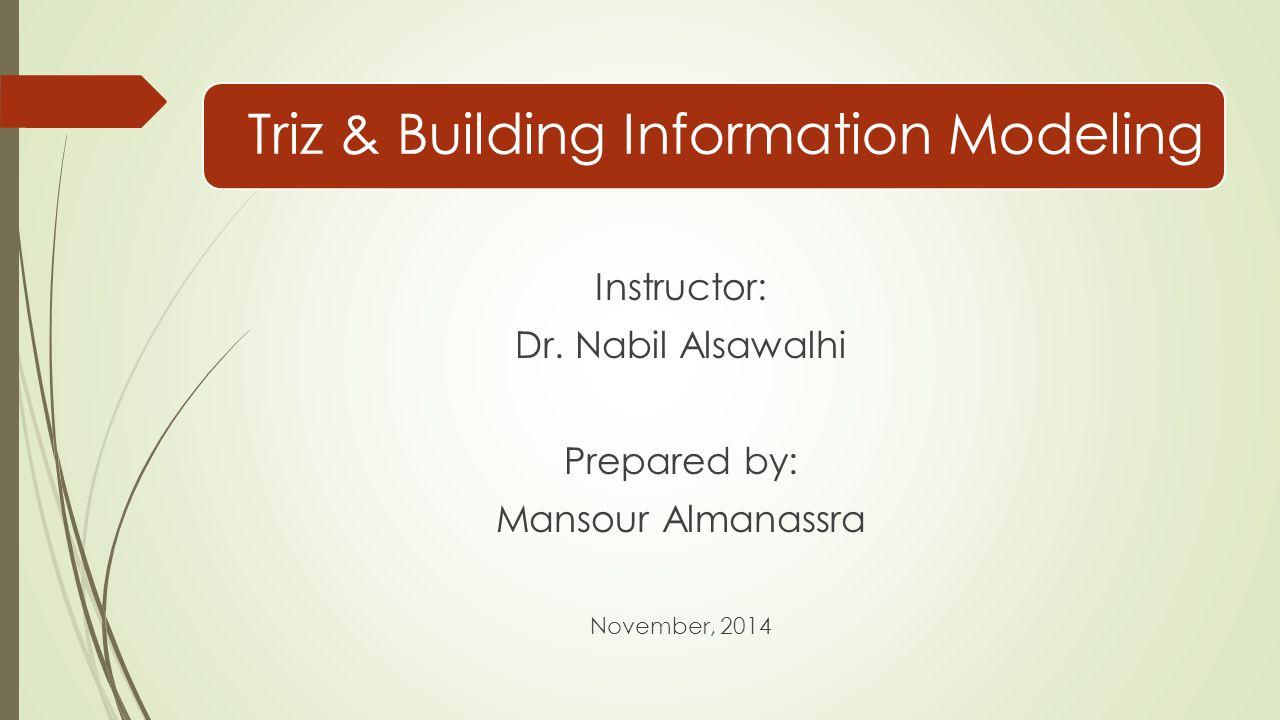 Triz & Building Information Modeling