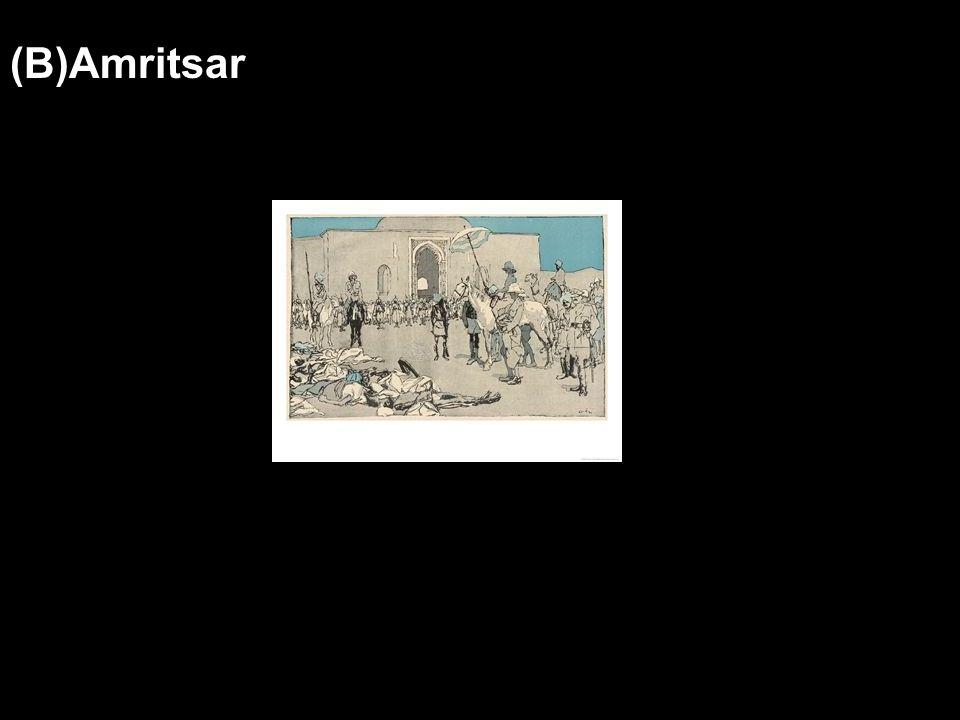 (B)Amritsar