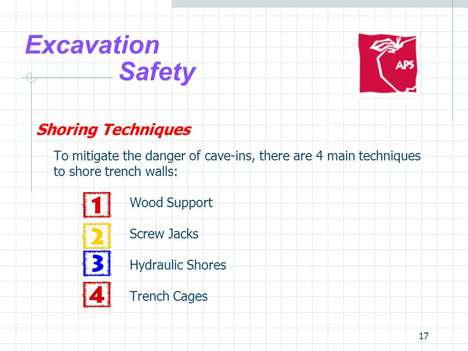 Excavation Safety Shoring Techniques