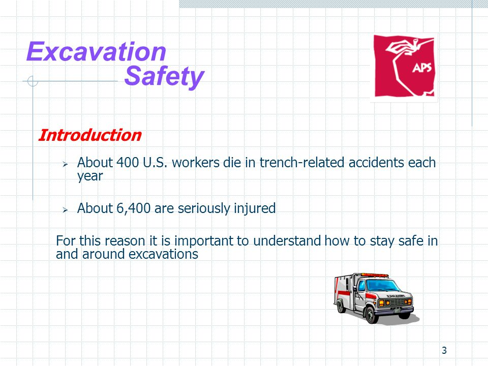 Excavation Safety Introduction