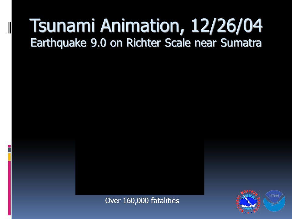 Tsunami Animation, 12/26/04 Earthquake 9