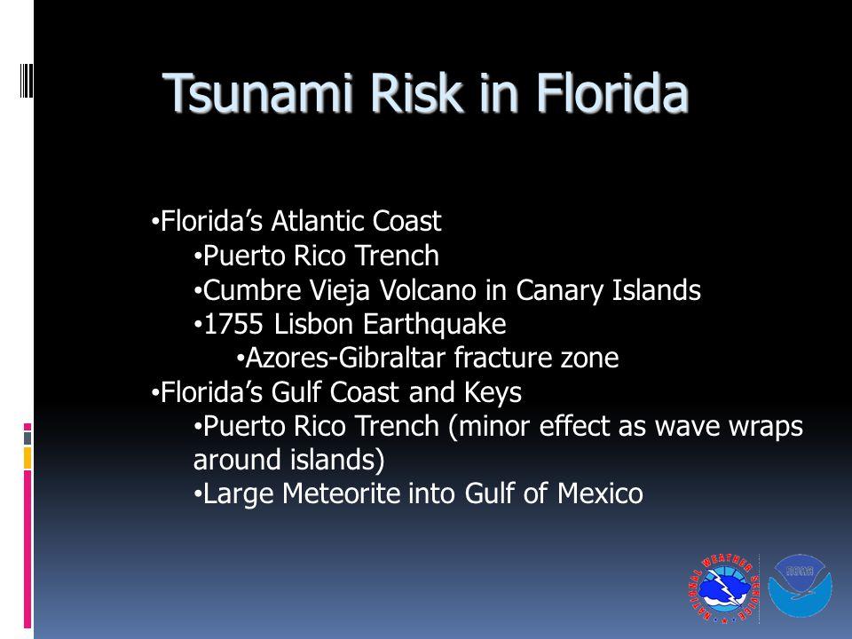 Tsunami Risk in Florida