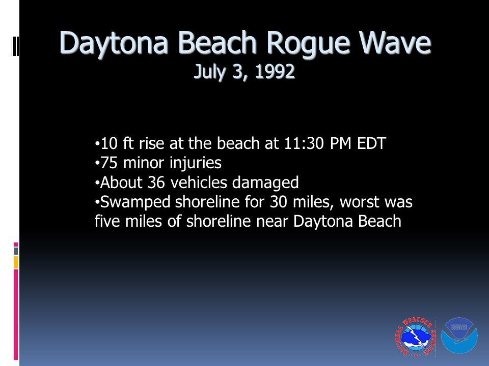 Daytona Beach Rogue Wave July 3, 1992