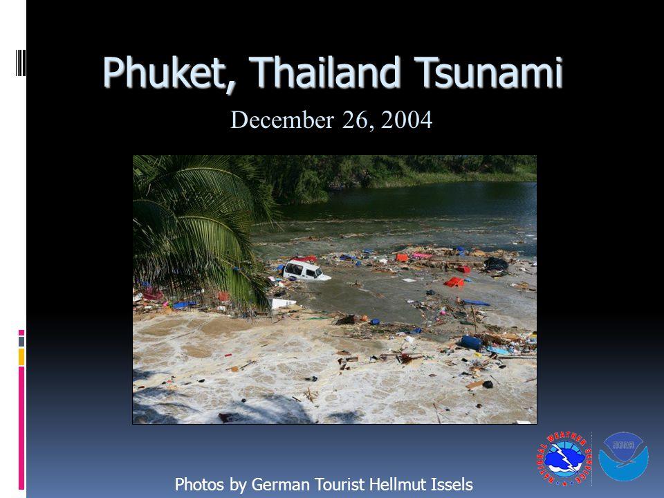 Phuket, Thailand Tsunami