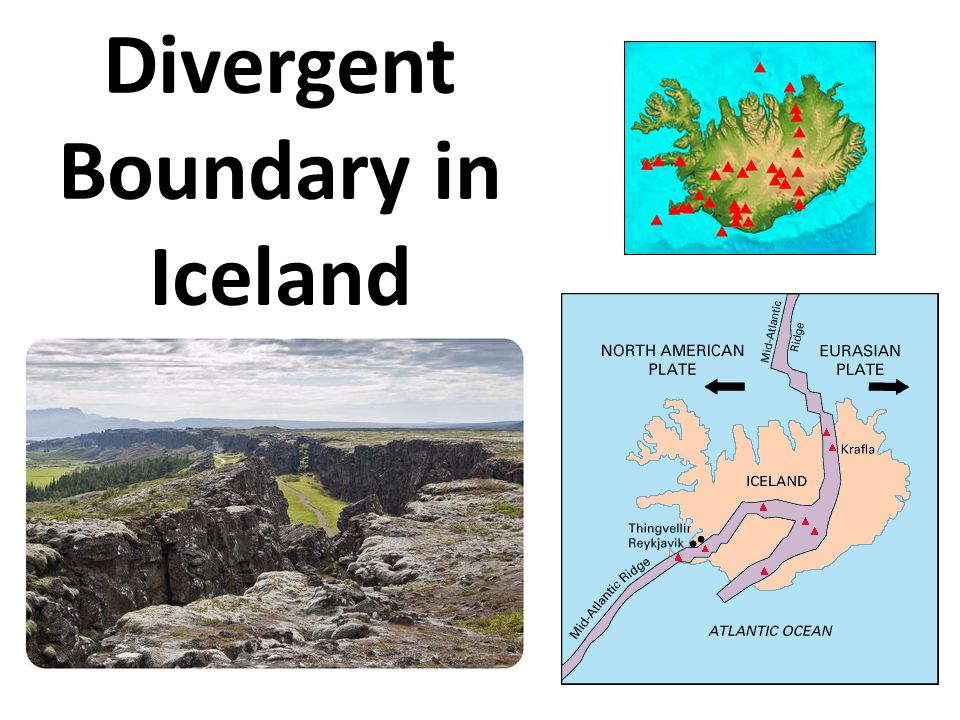 Divergent Boundary in Iceland