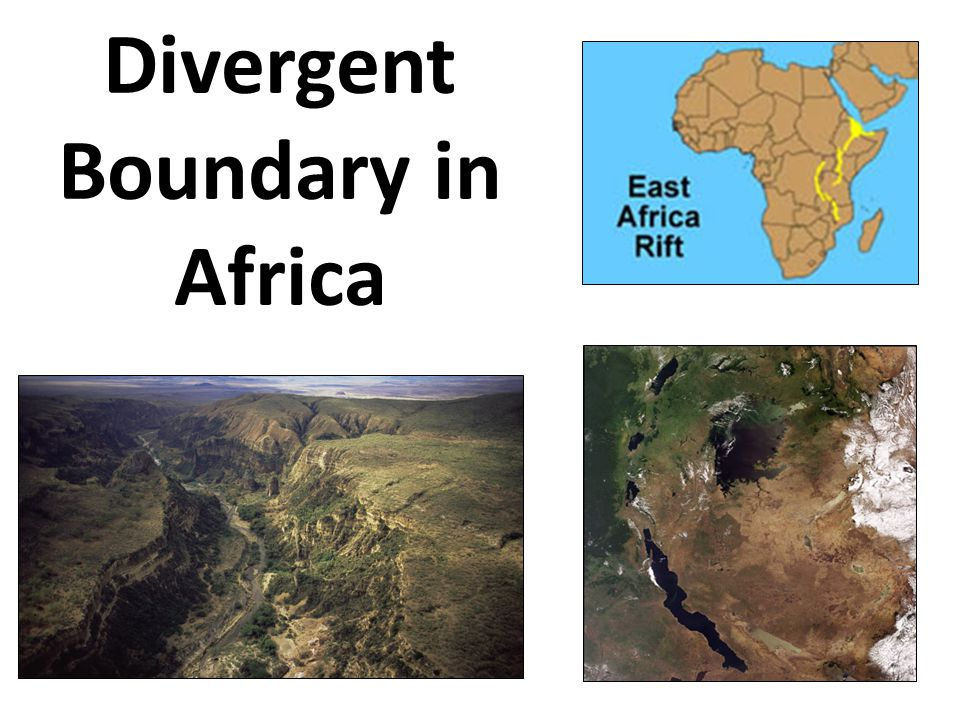 Divergent Boundary in Africa