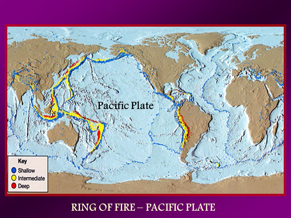 RING OF FIRE – PACIFIC PLATE